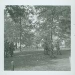 Troops in front of Lyceum by W. Wert (William Wert) Cooper