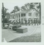 Troops near the Kappa Alpha Fraternity House by W. Wert (William Wert) Cooper