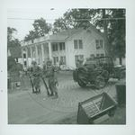 Troops near the Kappa Alpha Fraternity House by W. Wert Cooper