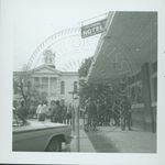 Troops on the Oxford, Mississippi Square by W. Wert (William Wert) Cooper