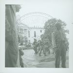 Troops on the Oxford, Mississippi Square by W. Wert Cooper
