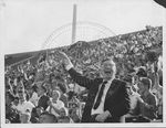 Ross Barnett at Homecoming game by Russell H. Barrett