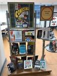 Comicana book display by Christina Torbert and Thomas Blake King