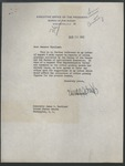 Harvey Smith to Senator James O. Eastland , 24 August 1943 by Harold D. Smith