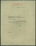 Senator James O. Eastland to Vice President Henry A. Wallace, 16 September 1941