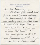 Ilo Wallace to Mrs. James O. Eastland, undated