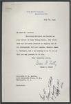 Grace G. Tully to W.L. Austin, 29 July 1941
