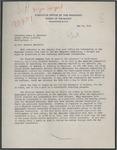 Stuart A. Rice to Senator James O. Eastland, 15 May 1945 by Stuart A. (Stuart Arthur) Rice (b. 1889)