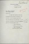 Edith Helm to Senator James O. Eastland, 26 November 1947 by Edith Benham Helm (1874-1962)