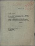 Senator James O. Eastland to President Harry S. Truman, 10 February 1948 by James O. (James Oliver) Eastland (1904-1986)