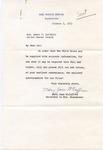 Mary Jane McCaffree to Senator James O. Eastland, 5 October 1953