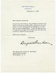 President Dwight D. Eisenhower to Senator James O. Eastland, 2 February 1969