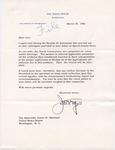 Wilton B. Persons to Senator James O. Eastland,30 March 1960