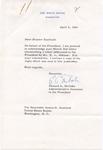 Edward A. McCabe to Senator James O. Eastland, 6 April 1960