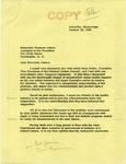 Senator James O. Eastland to Sherman Adams, 18 October 1956