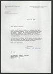 John M. Allen to Senator James O. Eastland, 27 April 1978 by John M. Allen