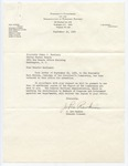 J. Lee Rankin to Senator James O. Eastland, 30 September 1964 by J. Lee Rankin