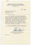 Esther Peterson to Senator James O. Eastland, 2 September 1964 by Esther Peterson (1906-1997)