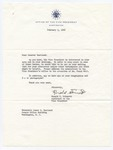 Ronald F. Stinnett to Senator James O. Eastland, 9 February 1966 by Ronald F. (Ronald Floyd) Stinnett