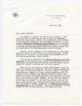 Vice President Hubert H. Humphrey to Senator James O. Eastland, 26 April 1966 by Hubert H. (Hubert Horatio) Humphrey (1911-1978)