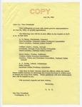 Senator James O. Eastland to Vice President Hubert H. Humphrey, 20 May 1966 by James O. (James Oliver) Eastland (1904-1986)