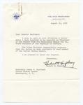 Vice President Hubert H. Humphrey to Senator James O. Eastland, 22 August 1967 by Hubert H. (Hubert Horatio) Humphrey (1911-1978)