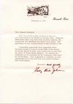 Lady Bird Johnson to Senator James O. Eastland, 9 February 1973 by Lady Bird Johnson (1912-2007)