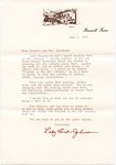 Lady Bird Johnson to Senator James O. Eastland, 1 June 1973 by Lady Bird Johnson (1912-2007)