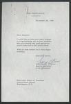 Lawrence F. O'Brien to Senator James O. Eastland, 28 November 1964 by Lawrence F. O'Brien