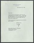 President Lyndon B. Johnson to Senator James O. Eastland, 28 November 1964 by Lyndon B. (Lyndon Baines) Johnson (1908-1973)
