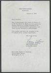 Lawrence F. O'Brien to Senator James O. Eastland, 6 January 1965 by Lawrence F. O'Brien