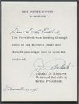 Juanita D. Roberts to Senator James O. Eastland, 17 March 1965 by Juanita D. Roberts
