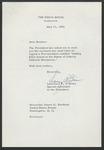 Lawrence F. O'Brien to Senator James O. Eastland, 11 May 1965 by Lawrence F. O'Brien