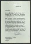 President Lyndon B. Johnson to Senator James O. Eastland, 9 August 1965 by Lyndon B. (Lyndon Baines) Johnson (1908-1973)