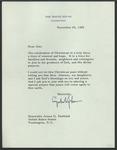 President Lyndon B. Johnson to Senator James O. Eastland, 20 December 1964 by Lyndon B. (Lyndon Baines) Johnson (1908-1973)