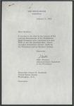 Mike Manatos to Senator James O. Eastland, 3 January 1966 by Mike Manatos (1914-1983)