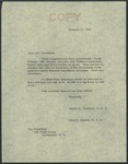 Senator James O. Eastland to President Lyndon B. Johnson, 11 January 1966 by James O. (James Oliver) Eastland (1904-1986)