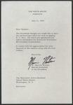 W. Marvin Watson to Senator James O. Eastland, 11 July 1966 by W. Marvin (William Marvin) Watson (1924-)