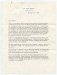Lawrence F. O'Brien to Senator James O. Eastland, 20 December 1963
