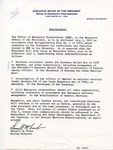Darrell M. Trent memorandum, circa June 1973