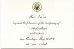 Mrs. Richard M. Nixon to Mrs. James O. Eastland, 13 May 1974