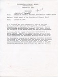 Charles E. Goodell memorandum, 5 January 1976 by Charles E. Goodell