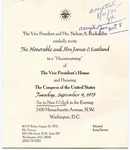 Vice President and Mrs. Nelson A. Rockefeller to Senator and Mrs. James O. Eastland, 10 August 1975