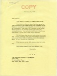 Senator James O. Eastland to Vice President Nelson A. Rockefeller, 17 February 1977 by James O. Eastland