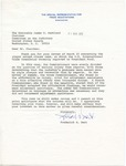 Frederick B. Dent to Senator James O. Eastland, 31 March 1976 by Frederick B. Dent