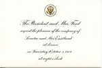 President Gerald R. Ford to Senator & Mrs. James O. Eastland, 3 October 1974 by Gerald R. Ford