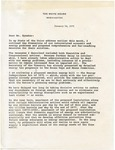President Gerald R. Ford to 'Mr. Speaker,' 30 January 1975 by Gerald R. Ford