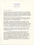 President Gerald R. Ford to Senator James O. Eastland, 25 March 1975 by Gerald R. Ford