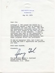 President Gerald R. Ford to Senator James O. Eastland, 24 May 1975 by Gerald R. Ford