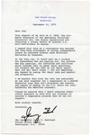President Gerald R. Ford to Senator James O. Eastland, 11 September 1975 by Gerald R. Ford
